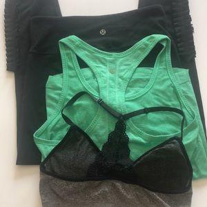 Lululemon haul + bonus sports bra with lace detail